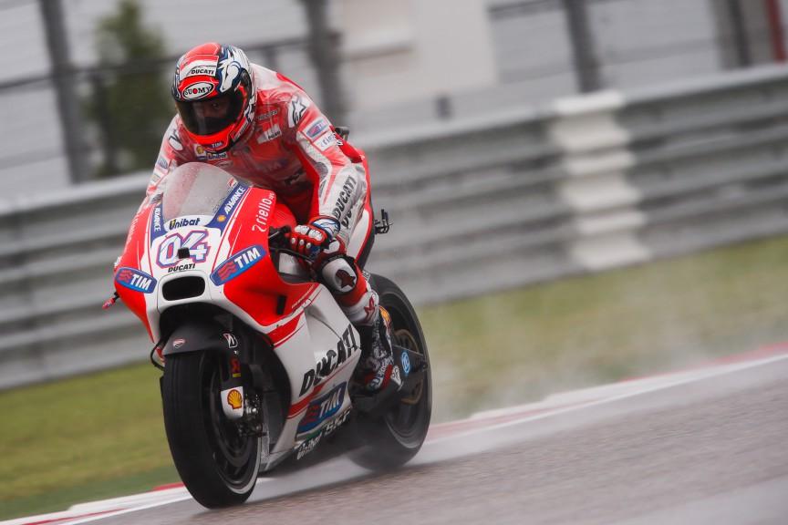 Andrea Dovizioso, Ducati Team, COTA FP1