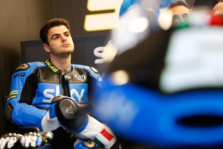 Romano Fenati, SKY Racing Team VR46, CORA FP1