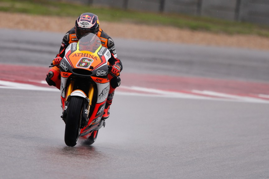 Stefan Bradl, Forward Racing, COTA FP1