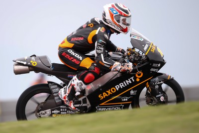 Masbou leads mixed Moto3™ Friday in Austin