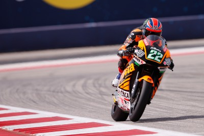 Lowes dominant in Moto2™ FP2 before huge crash