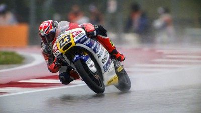 Antonelli excels in the wet during Moto3™ FP1