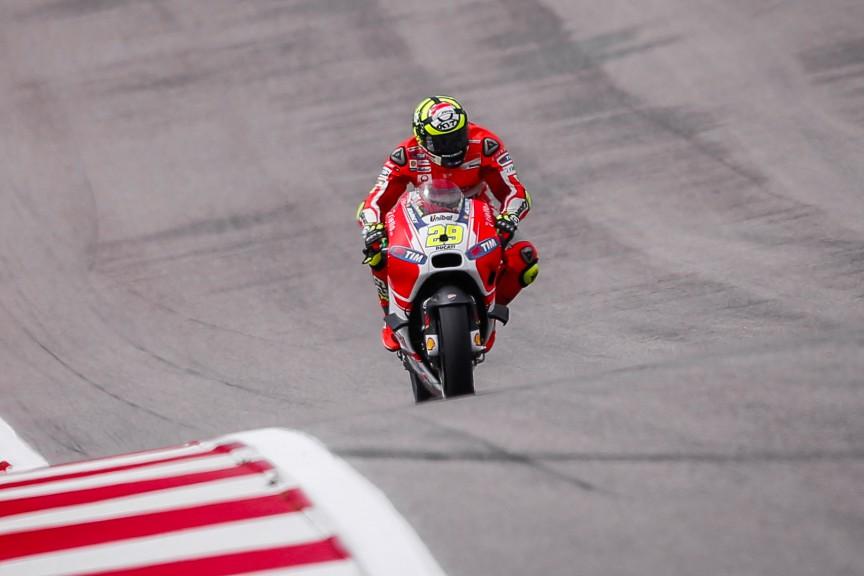 Andrea Iannone, Ducati Team, COTA FP2