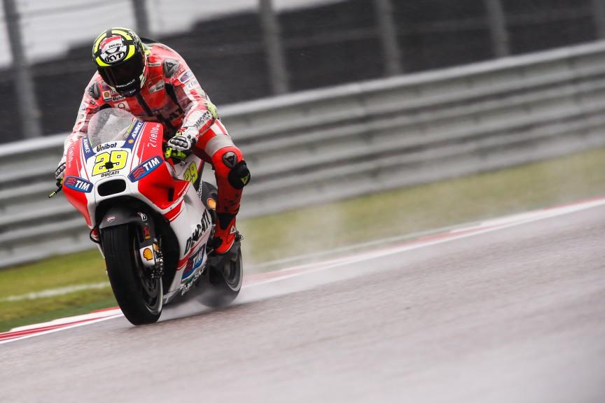 Andrea Dovizioso, Ducati Team, COTA FP2
