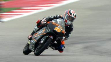 Masbou termina primeiro dia na frente da Moto3™