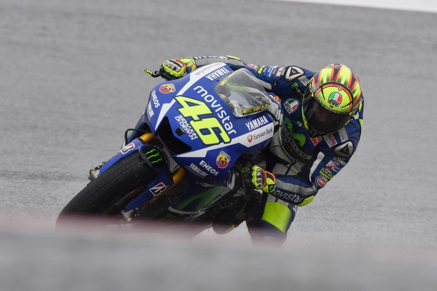 Valentino Rossi, Movistar Yamaha MotoGP, COTA FP1