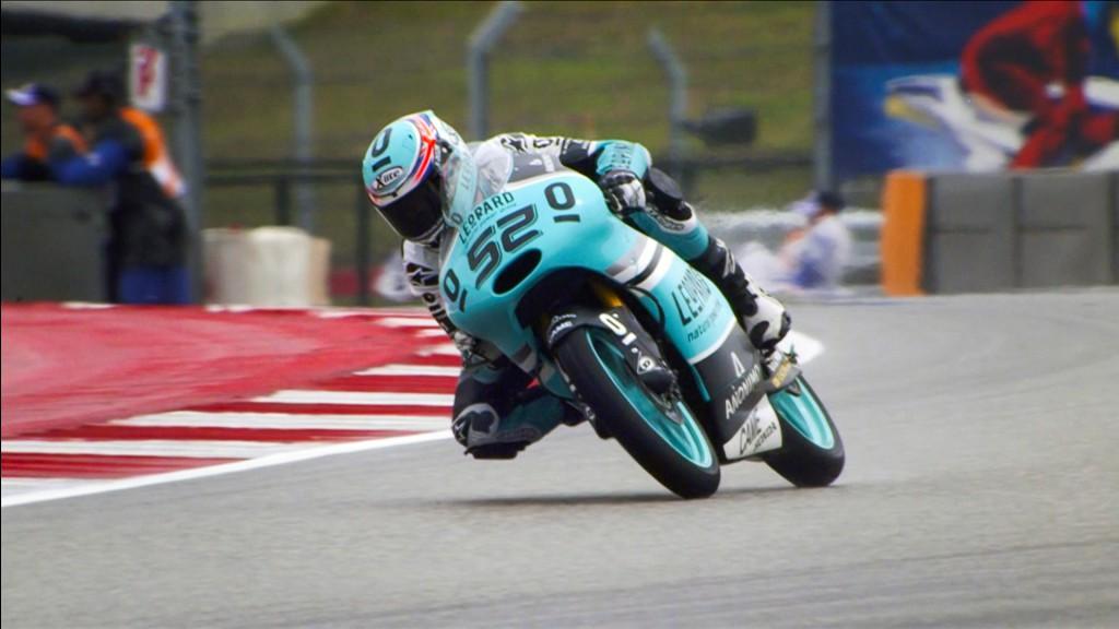 Danny Kent, Leopard Racing, COTA FP2