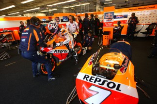 "Marquez: ""I saw a warning light on the bike…"""