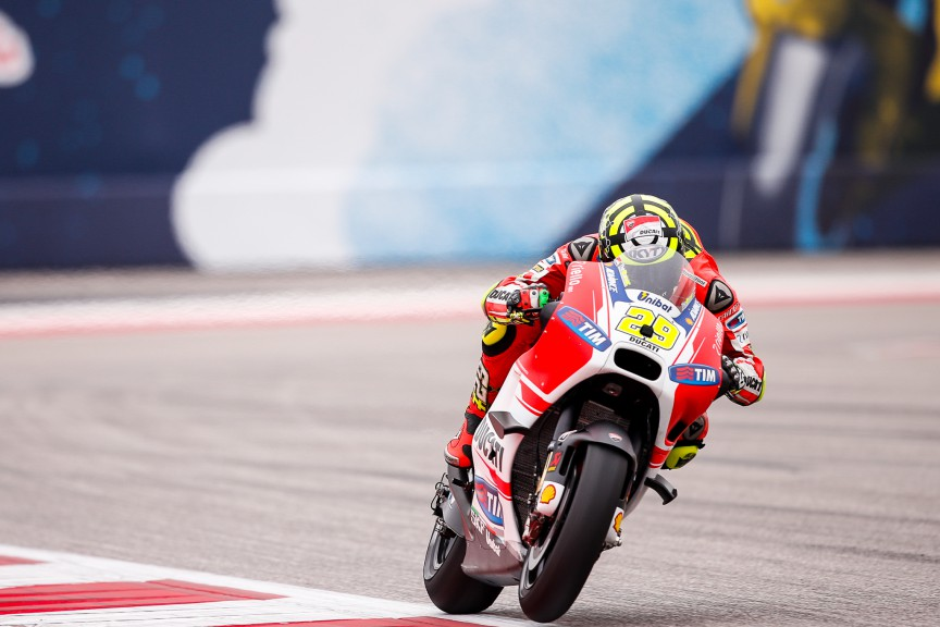 Andrea Iannone, Ducati Team, COTA Q1