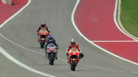 The first Qualifying session of the MotoGP™ World Championship in Austin, Texas.