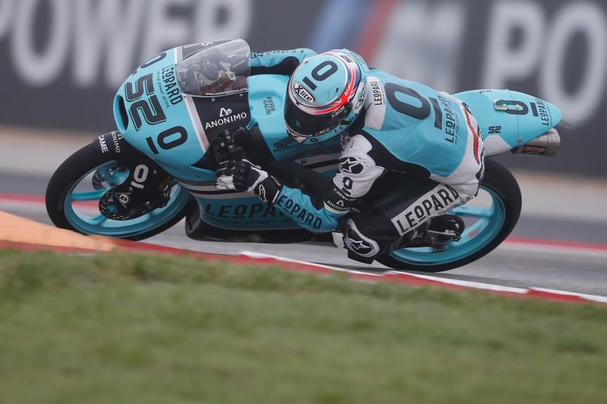 Danny Kent, Leopard Racing, COTA FP3