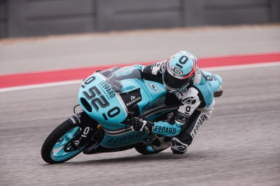 Kent holt Moto3™ Pole in Austin