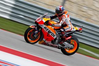 Márquez mène une troisième séance cruciale à Austin