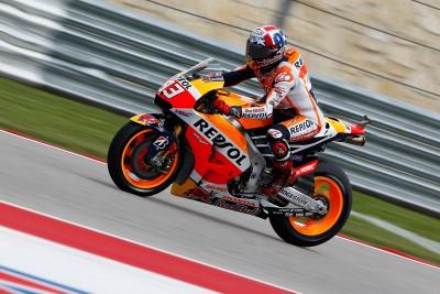 Márquez, máximo favorito para la Q2 de MotoGP™ en Texas
