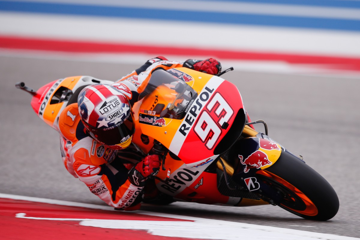 Marquez takes pole at CoTA after dramatic Q2 | MotoGP™