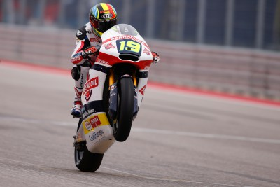 Simeon secures #AmericasGP Moto2™ pole