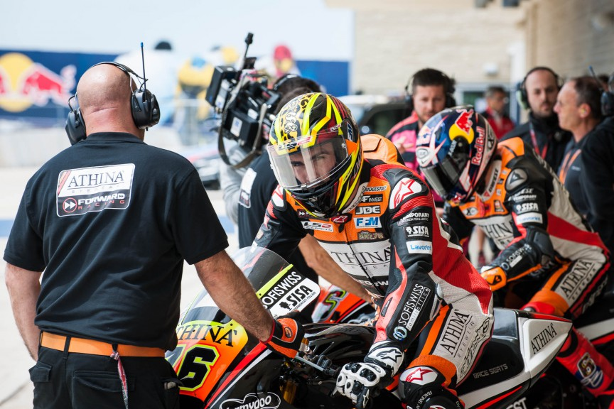 Loriz Baz, Athinà Forward Racing, COTA FP2 © 2015 Scott Jones, PHOTO.GP