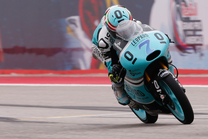Efren Vazquez, Leopard Racing, COTA RACE