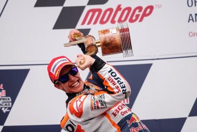 Márquez behält weiße USA-Weste in der MotoGP™