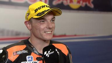 'It's incredible to win my first race in Moto2™'