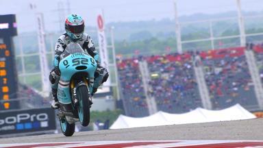Kent gewinnt den Austin Grand Prix der Moto3™ Souverän