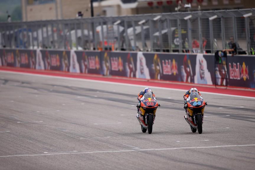 Miguel Oliveira, Karel Hanika, Red Bull KTM Ajo, COTA QP