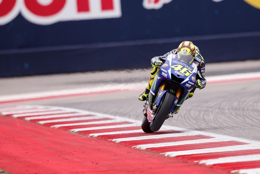 Valentino Rossi, Movistar Yamaha MotoGP, COTA RACE
