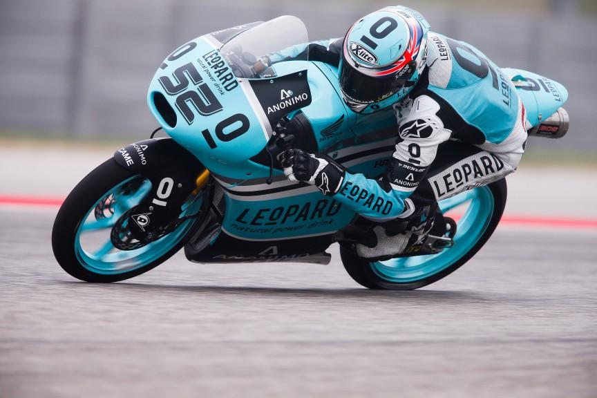 Danny Kent, Leopard Racing, COTA RACE