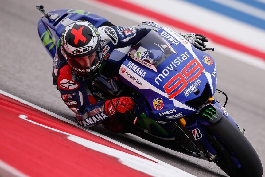 Jorge Lorenzo, Movistar Yamaha MotoGP, COTA RACE