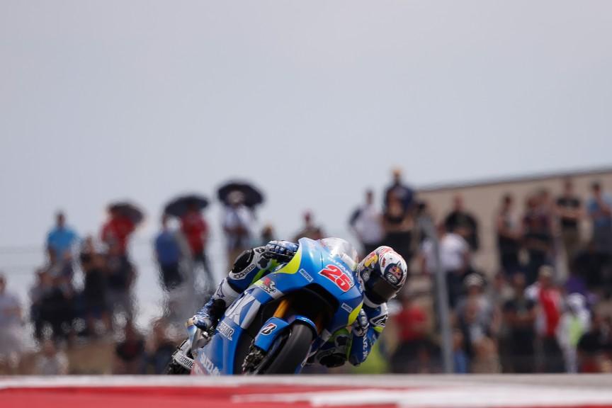 Maverick Viñales, Team Suzuki MotoGP, COTA RACE