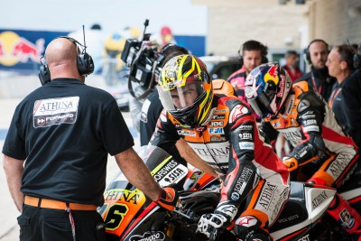 Loris Baz progresse en qualifications