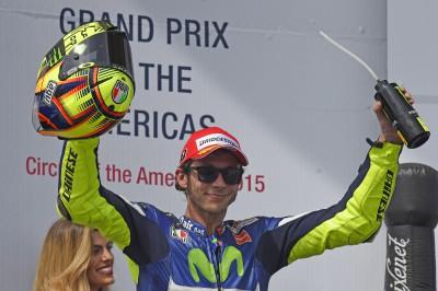 """Rossi: """"Lo pneumatico anteriore si è distrutto"""""""
