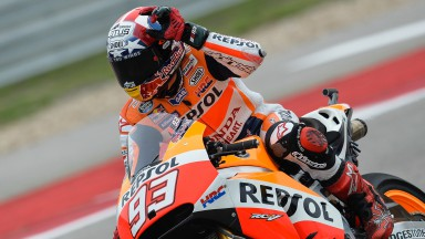 Marquez cruises to impressive victory in Austin