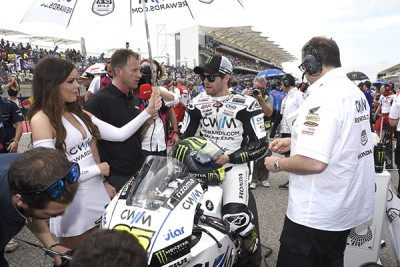"Crutchlow: ""I got caught up in the crash on the first lap"""