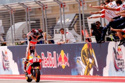 Marquez rewrites record books at #AmericasGP