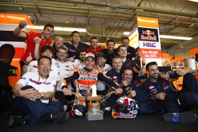 "Marquez: ""We have a good momentum which I hope to continue"""