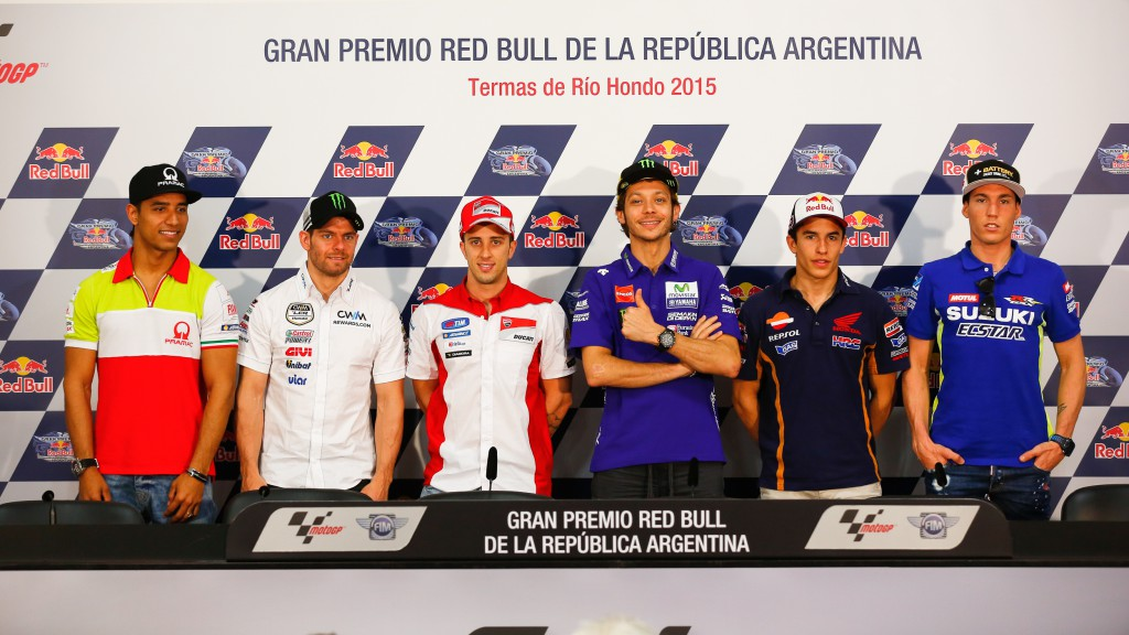 GP Red Bull de la República Argentina Press Conference