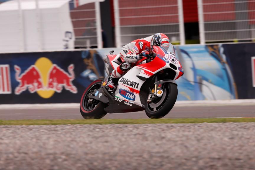 Andrea Dovizioso, Ducati Team, ARG FP2