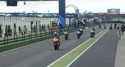 Moto2™クラス-フリー走行1
