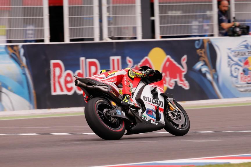Andrea Iannone, Ducati Team, ARG FP2