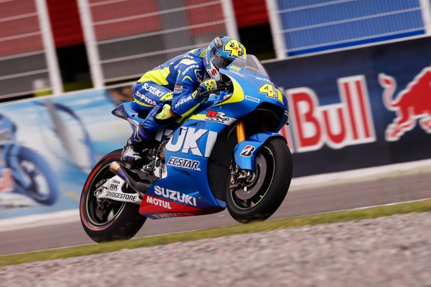Aleix Espargaro, Team Suzuki MotoGP, ARG FP2
