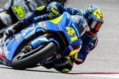 Espargaro bleibt mit Suzuki in FP2 vorn