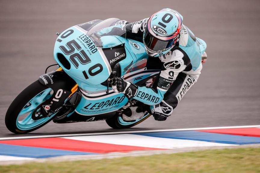 Danny Kent, Leopard Racing, ARG FP2