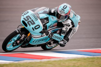 Kent finishes Friday Moto3™ practice on top