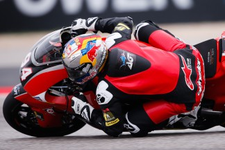 Folger sets new lap record in Moto2™ FP1
