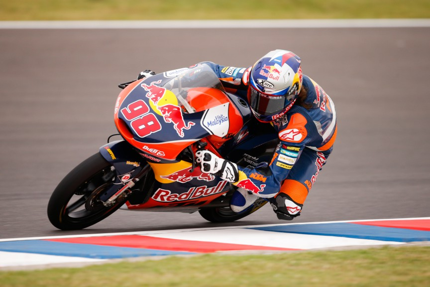 Karel Hanika, Red Bull KTM Ajo, ARG FP2