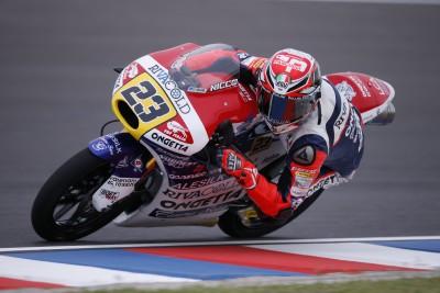 Antonelli lidera la FP1 de Moto3™ en Argentina