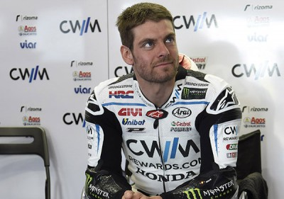 "Crutchlow:""I've only ever done 20 laps at this track before"""