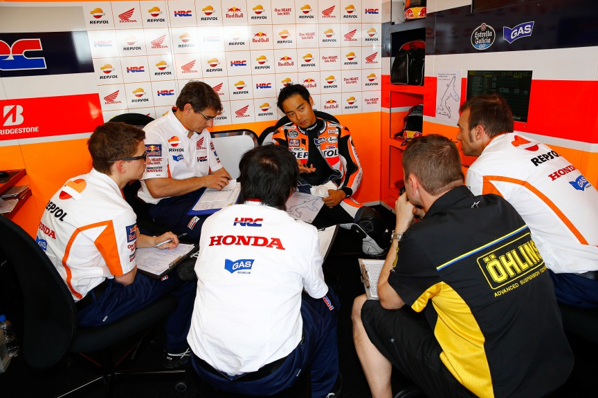 Hiroshi Aoyama, Repsol Honda Team, ARG Q1