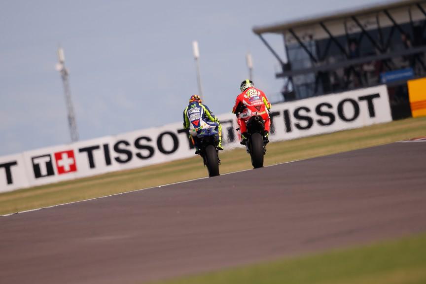 Valentino Rossi, Andrea Iannone, Movistar Yamaha MotoGP, Ducati Team, Q2